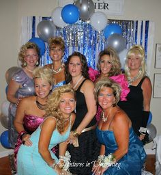 """Adventures in Decorating: """"Into the Night"""" Trailer Trash Party, Christmas Party Outfits, Christmas Parties, Dance Themes, 80s Prom, 40th Birthday Parties, Birthday Ideas, Skate Party, Prom Night"""