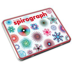 @Overstock.com - Kahootz Spirograph Design Tin Set - This Kahootz Spirograph Design Tin Set includes a 15-piece design set featuring a storage tin, seven wheels, ring, bar, rack, two pens and spiro-putty. This design set allows anyone to draw elegant and artistic designs.  http://www.overstock.com/Sports-Toys/Kahootz-Spirograph-Design-Tin-Set/8137093/product.html?CID=214117 $16.49