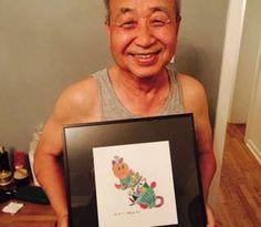 Image copyright                  Facebook: Ji Lee                  Image caption                                      Chan Jae, de 75 años, aprendió a usar Instagram para contarles historias a sus nietos a través de sus dibujos.                                ¿Cómo contarles un cuento a tus nietos cuando te encuentras solo y dos océanos te separan del rest