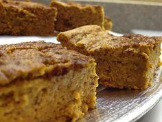 Pumpkin Protein Brownies (GF/Sugar Free) 42 calories/each ~ The Skinny Weigh