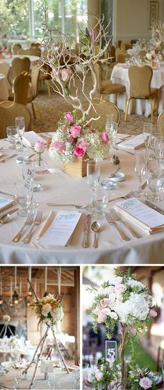 Gorgeous Wedding Centerpiece ideas and decor.
