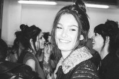 Missoni Women's Winter 2014: backstage   Missoni