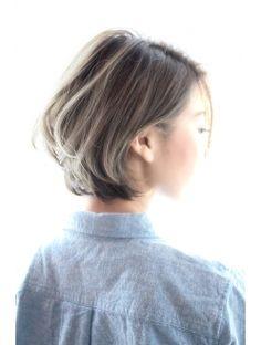 オゥルージュ(Au-rouge noma) 【aurouge noma 柳瀬香里】 グレージュカラー ショートボブ◎