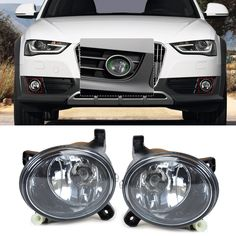 Big discount US $36.07  DWCX 8T0941699B, 8T0941700B Front Right Left Fog Light Lamp for for Audi A4 B8 / S4 / A4 Allroad / A6 C6 / S6 / A5 / S5 / Q5