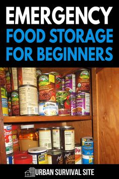 If you're new to food storage, you need to read this guide. It explains where to store your food, what kind of foods to store, how to store them, and more.