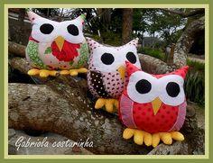 ♥♥ Corujinhas ♥♥ | Corujas!!! Estas são encomenda do marido … | Flickr