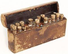 Civil War doctor's medicine case