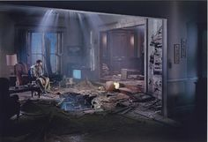 Gregory Crewdson's twilight series