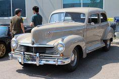 antique car 1946 Hudson