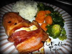 Bacon Wrapped Lime Chicken – The Foodee Project, no link to actual recipe
