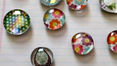 Craft Fair Friday, Part 6: Glass Pebble Magnet Tutorial