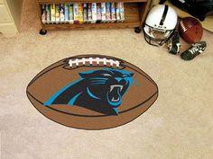 """NFL - Carolina Panthers Football Rug 20.5""""x32.5"""""""