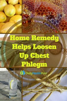 The worst part of a bad chest cold is probably the feeling of congestion you get in your chest, and there's only so much vaporub you can apply.  Fortunately, there's a simple homemade syrup that can help clear up congestion! It's easy to make, kid- friendly, and even pretty tasty to boot.Try this #home #remedy the next time you notice yourself or your kids coughing up phlegm – it'll help decrease inflammation and clear out your lungs so you can get a good night's rest and beat the cold.