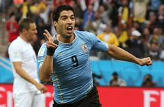 Suárez presente en el mundial de Brasil 2014