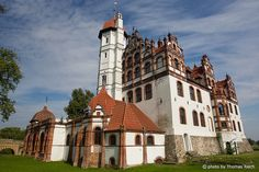 Castle Basedow,  Mecklenburg-Vorpommern,   Germany by Thomas Reich Repinned by www.gorara.com