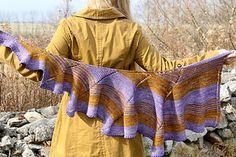 Swirligig shawl