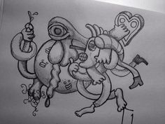 Daily Doodle#1 by will.adams, via Flickr