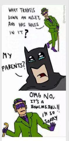Poor Batman...