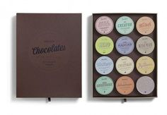 Candy Personality Packaging - No Two Coca Luxury Chocolates Taste the Same (GALLERY)