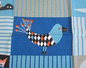 Vintage Swedish Wall Hanging Louise Fougstedt