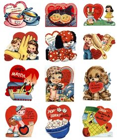 FREE Valentines Printables! Cards & Party Goods! - Kara's Party Ideas - The Place for All Things Party