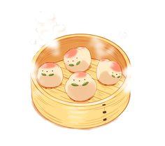 Ideas For Cute Bird Cartoon Pictures Cute Food Drawings, Cute Kawaii Drawings, Cute Animal Drawings, Pikachu Pikachu, Food Cartoon, Cartoon Pics, Art Kawaii, Kawaii Chibi, Cute Food Art