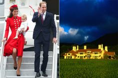 Royal tour 2014: Luxury lodge where William, Kate and Prince George will recover from jet-lag - Mirror Online