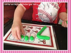 A Differentiated Kindergarten: Math Stations Tips (and a Freebie) Linky Party
