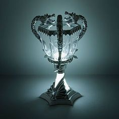 This glorious Triwizard Cup from Harry Potter's world is also a desk lamp, perfect for casting a glow on your late night reading without keeping everyone in the room awake.
