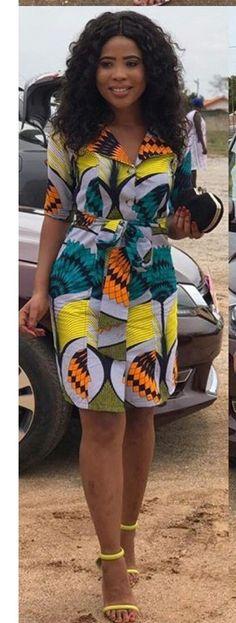 modern african fashion that looks trendy 29237 Short African Dresses, African Fashion Designers, Latest African Fashion Dresses, African Print Dresses, African Print Fashion, Africa Fashion, African Prints, African Traditional Dresses, African Attire
