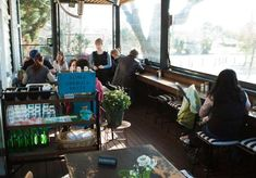Mart 130 cafe | Converted train station cafe | Canterbury Rd Middle Park