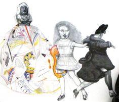 Alice in Wonderland  artist Pat Andrea
