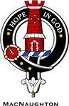 MacNaughton Clan Crest Badge from www.4crests.com #clan #crests # badges #clans #scottish #scotland #family #badge #crest #tartan #kilt #genealogy #heraldry #family