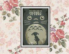 BOGO FREE My Neighbour Totoro Cross Stitch pattern by StitchLine