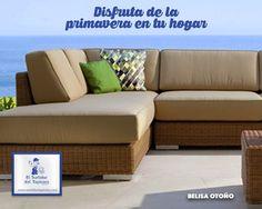 ¡Dale vida a tu jardín! retapiza los muebles que tienes en el exterior con nuestro color de la semana