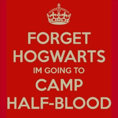 PJO 30 day challenge day 1 Camp half-blood