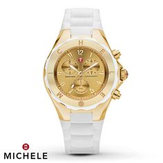 Michele Tahitian Jelly Beans Chronograph Watch