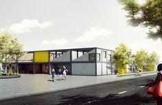 'Kids' City' - Modular Kindergarten Proposal / Adam Wiercinski
