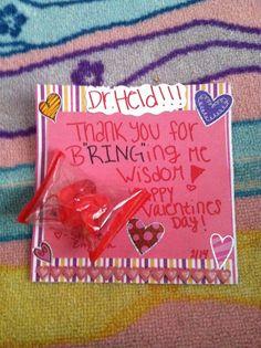 TEACHER VALENTINES DAY CARD !