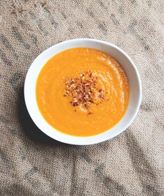 Pumpkin soup with oranges and ginger | www.juyogi.com