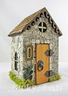 cute little cottage tutorial that I think this would make a great fairy house