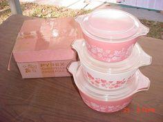 Pink Gooseberry - My Mom's Pyrex pattern.