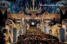 Wedding Stage Backdrop, Wedding Stage Design, Wedding Entrance, Wedding Stage Decorations, Backdrop Decorations, Decor Wedding, Asile, Wedding Ceiling, Arab Wedding