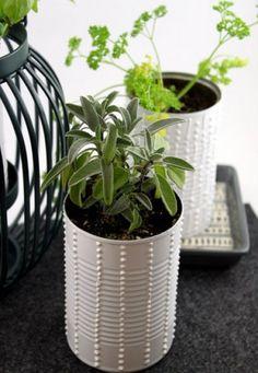 5 DIY Herb Gardens We Love | theglitterguide.com
