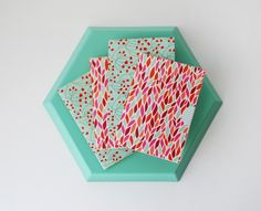How to Make Beautiful Origami Cards From Tissue Boxes - Tuts+ Crafts & DIY Tutorial Origami Cards, Origami And Kirigami, Origami Folding, Tissue Box Crafts, Tissue Boxes, Paper Crafts, Diy Crafts, Diy Paper, Origami Notebook