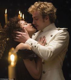 Knightley's Anna falls for Count Vronsky, played by Aaron Johnson