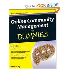 Learn how to foster a loyal online community from industry leader, Deb Ng. $18.24 {affiliate}
