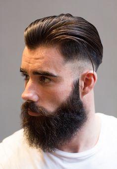 15 Mens Medium Hairstyles with Beard 2018