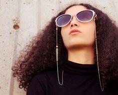 Gold eyeglass chain glasses chain for women sunglass strap sunglasses holder bijoux nature jewelry e
