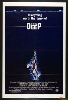 The Deep 1977 Vintage 27x41 Poster 1 sheet